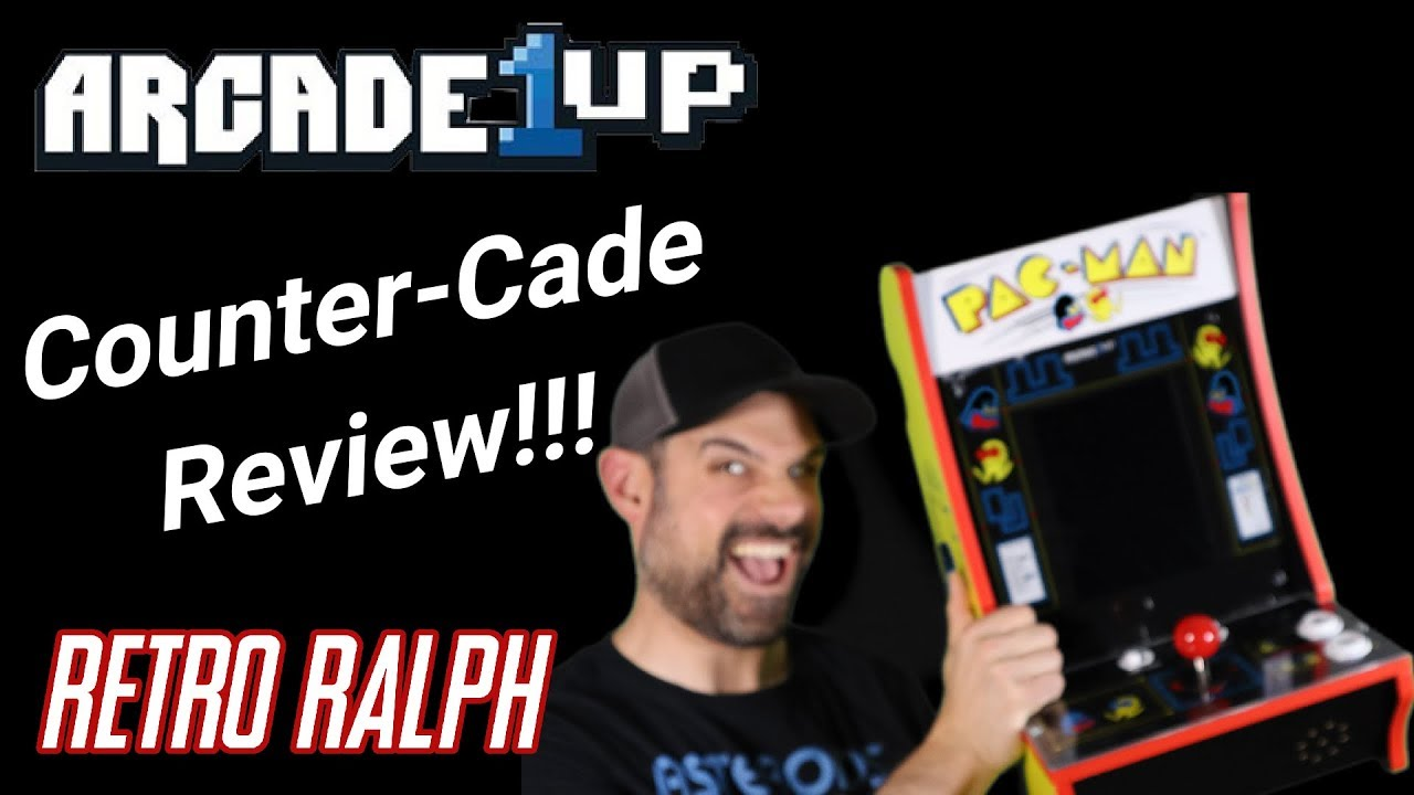 Arcade1up Counter-Cade Review - PacMan