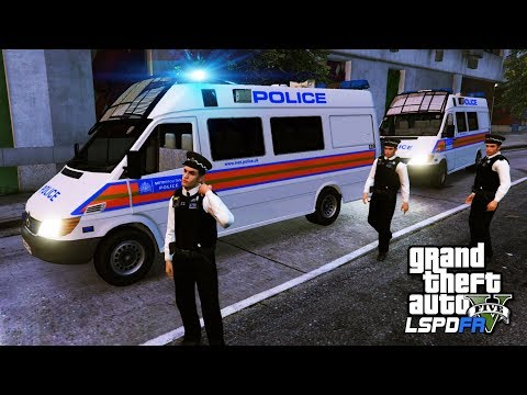 TSG POLICE SUPPORT TEAM | GTA 5 PC LSPDFR | The British Way #132