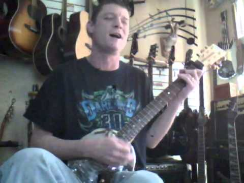 B-E-E-R-R-U-N Beer Run! played on a Turkeychicken VDubcap guitar (Todd Snider cover)