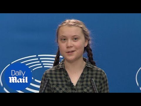 16-year-old Greta Thunberg: 'It's essential to vote in EU elections'