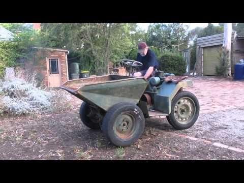 Benford Dumper - Petter AVA1 Engine
