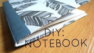 DIY: Custom Notebook from Old Cereal Box ✎ Thumbnail