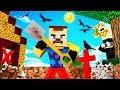 Minecraft - HELLO NEIGHBOR - WHAT SECRET IS HE HIDING?