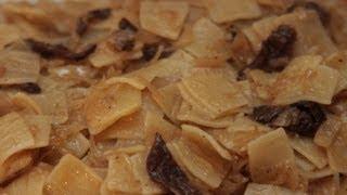Łazanki z kapustą kwaszoną i grzybami, KitchenBook