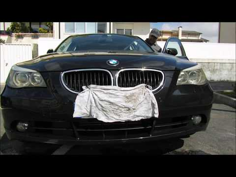 How to repair, wash headlights. BMW.