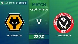 Wolverhampton 4 1 Sheffield 4 тур Англия