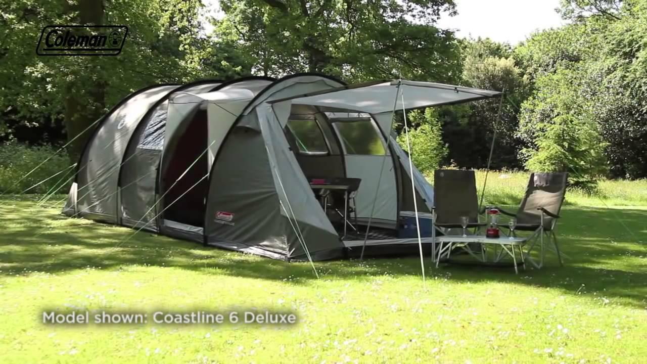 Coleman® Coastline 4 Deluxe & Coleman® Coastline 4 Deluxe - YouTube