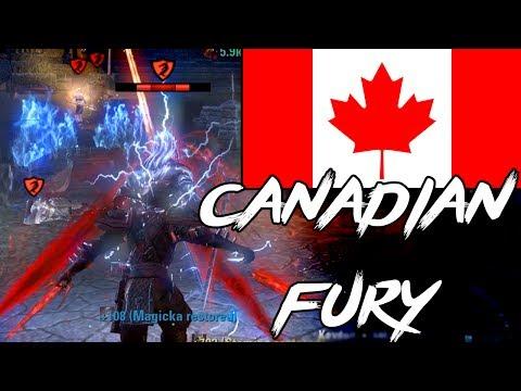 ESO PVP – EXTREME CANADIAN FURY (Elder Scrolls Online PvP Stamina Nightblade)