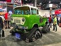 UNIQUEST JEEP EVER!! 1958 JEEP FC170 LIFTED ON TRACKS!!