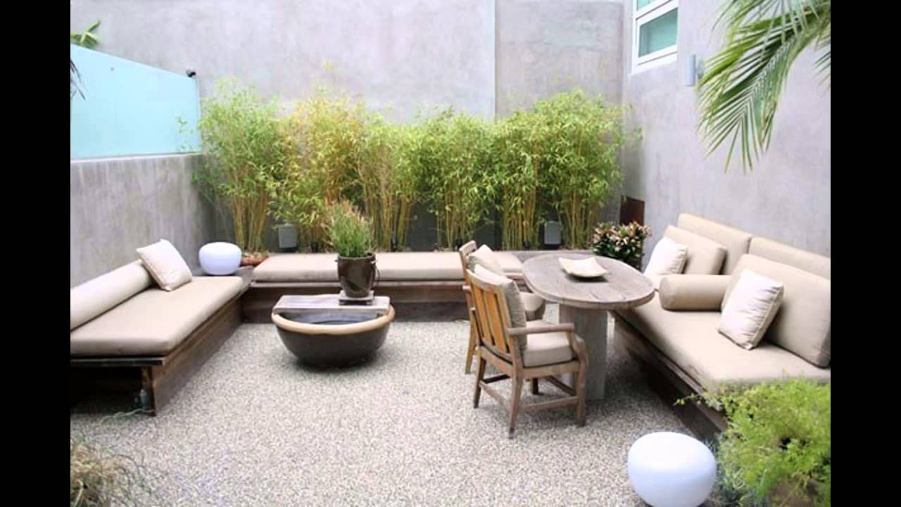 Modern patio furniture ideas home art design decorations for Modern backyard ideas