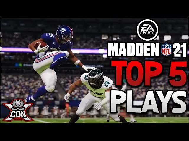Madden NFL 21 Top 5 Plays From MrHookah860