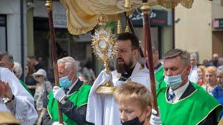 Procesja w parafii pw. św. Antoniego Padewskiego (klasztor)