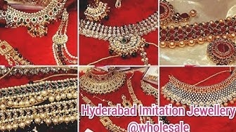 JEWELLERY WHOLESALE MARKET CHARMINAR | ARTIFICIAL JEWELLERY COLLECTION & BRIDAL JEWELLERY HYDERABAD