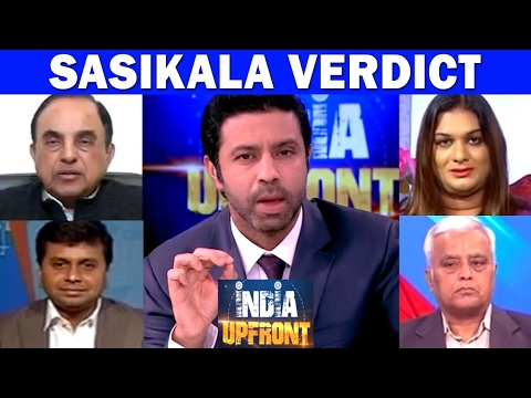 Sasikala's Verdict In Disproportionate Assets Case | India Upfront With Rahul Shivshankar