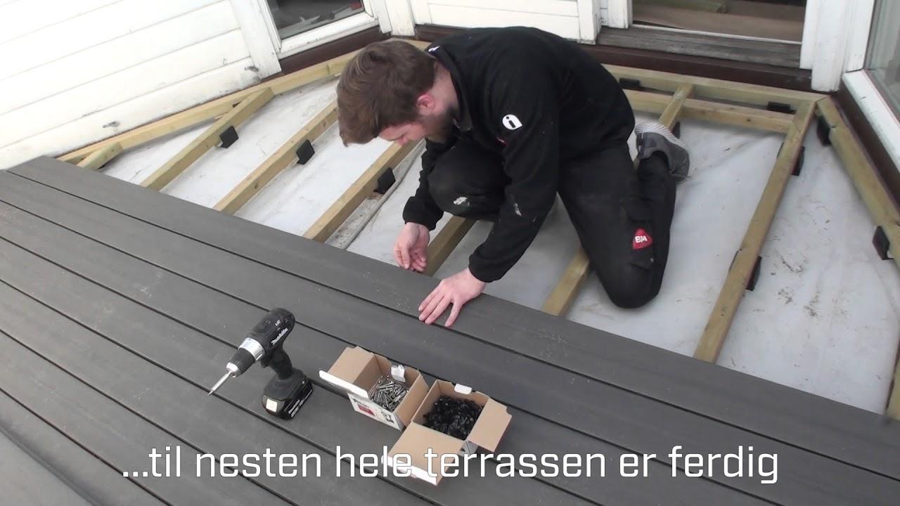 Svært Byggmakker DIY: Hvordan bygge utebenk med oppbevaring - YouTube EU-53