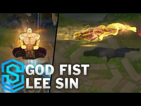 God Fist Lee Sin Skin Spotlight - Pre-Release - League of Legends