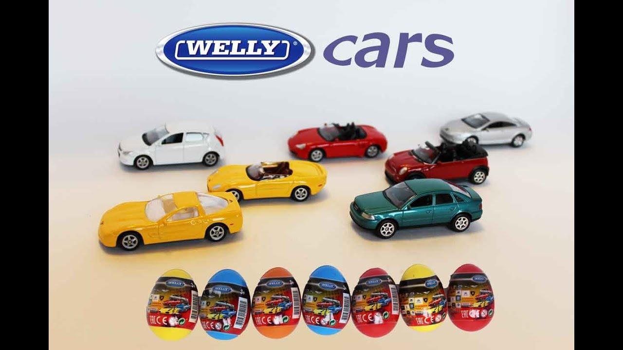 Surprise Eggs Cars