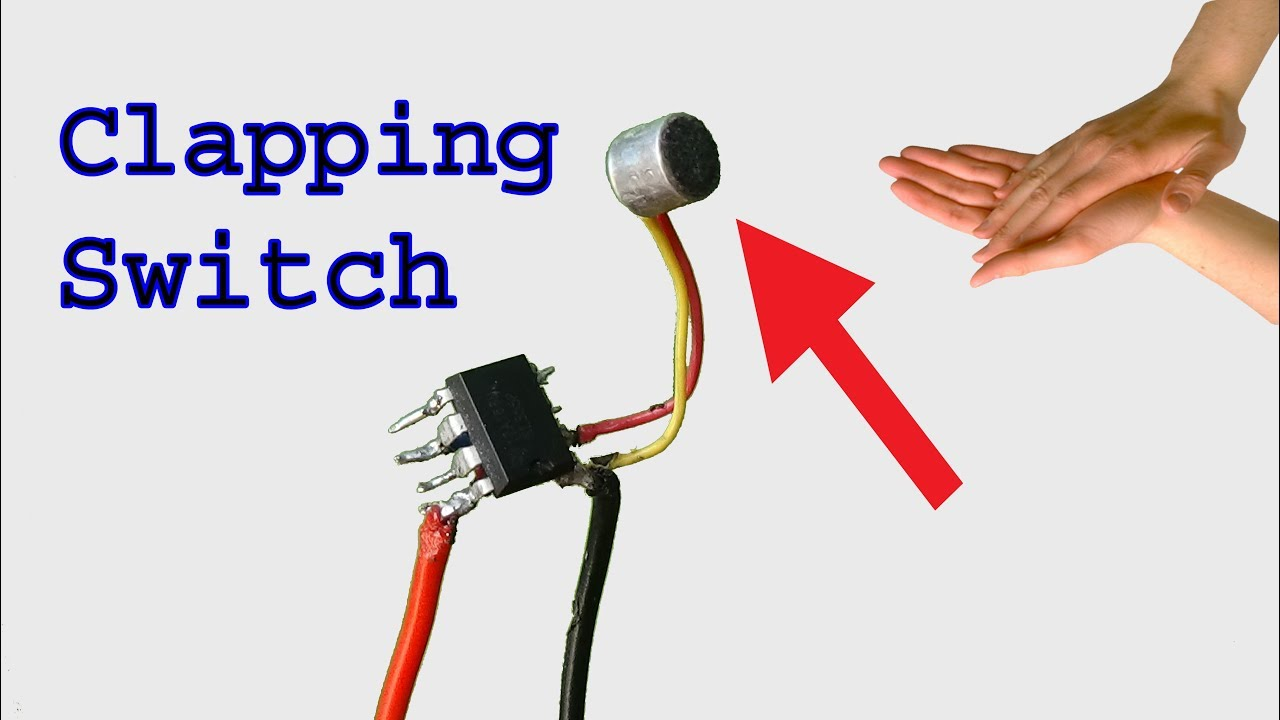 how to make a clap switch clapping switch diy idea p1 youtube