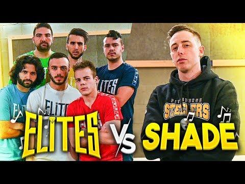 🎵 ELITES vs SHADE   BATTAGLIA FREESTYLE!