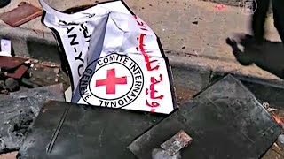 Жители Газы атаковали отделение Красного Креста (новости)