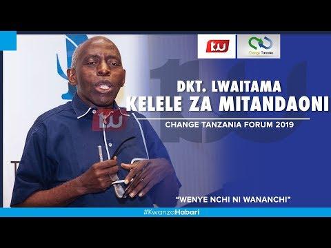 LIVE | Dk. Lwaitama Na Kelele Za  Mitandaoni