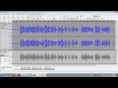 Audacity Tutorial: Audio optimieren, Rauschenfernung, Kompressor, HowTo