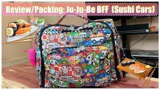 Review/Packing: Ju-Ju-Be BFF (Sushi Cars)