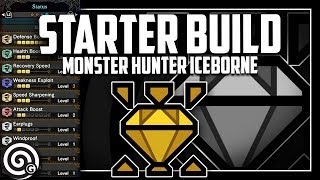 UNSTOPPABLE STARTER BUILD - The Wall Buster | MHW Iceborne