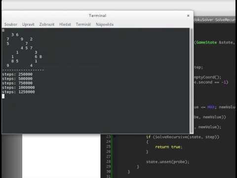 Sudoku Solver Using Backtracking | HackerEarth