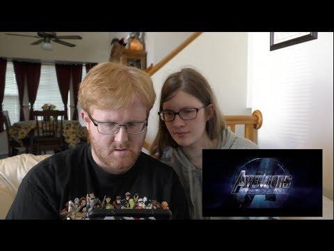 Endgame Trailer 2 Reaction