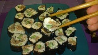 Творожные роллы с тунцом. Вкуснее классических!