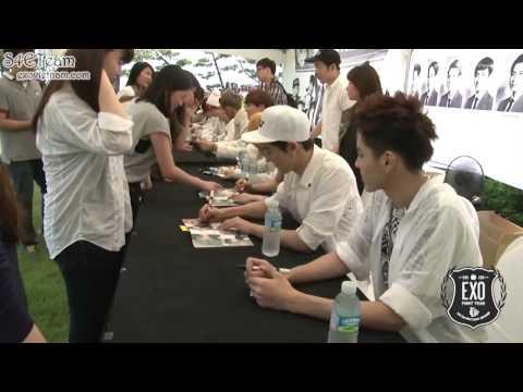 [Vietsub] EXO -- Autograph Party for Fans in Busan  HD -- [EXOVIETNAM.COM]