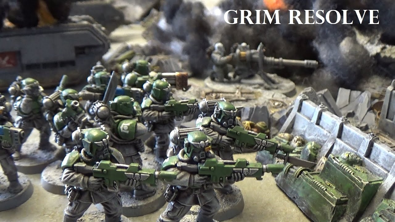 Astra Militarum vs Renegades Lost and the Damned 2500pts ...