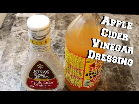 Apple Cider Vinegar Salad Dressing Recipe