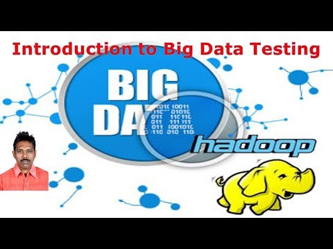 Introduction to Big Data Testing|Big Data and Hadoop Tutorial|G C Reddy|
