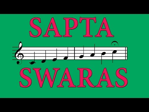 Sapta Swaras - Seven Musical Notes - Carnatic Music Lessons
