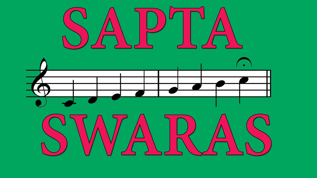 Sapta Swaras - The Seven Musical Notes of Carnatic Music