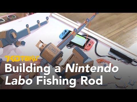 Building a Nintendo Labo Toy-Con Fishing Rod