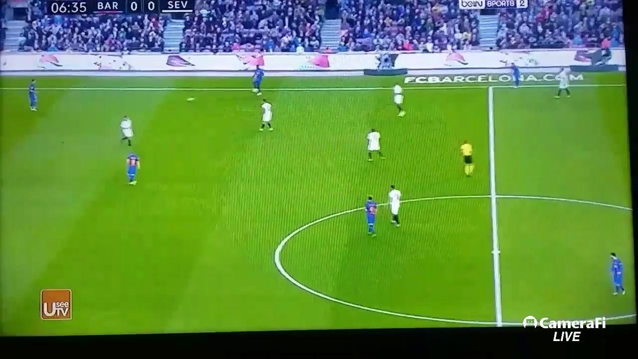 FC BARCELONA  VS SEVILLA broadcast