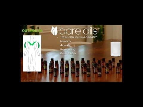 USDA Organic BARE Essential Oils Introduction with Francesco Gilbert