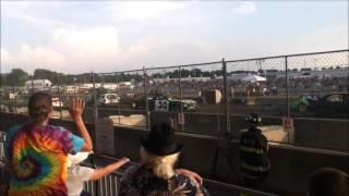 Erie County Fair Demolition Derby 8/20/16 Hamburg, NY