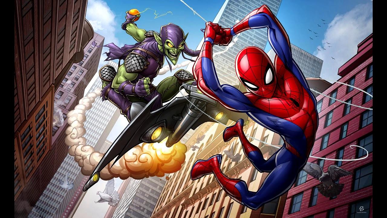 Marvel's Spider-Man - Green Goblin Art!!!! - YouTube