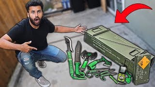 Someone Sent Me MYSTERY Packages Filled With ZOMBIE APOCALYPSE WEAPONS!! *You Won't Believe It..*