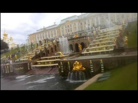 Петергоф. Нижний парк, большой каскад