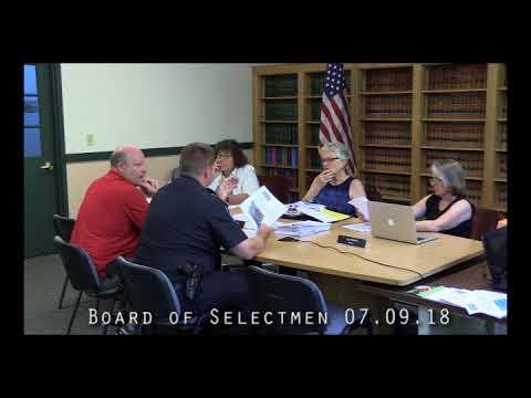Board of Selectmen 07.09.18