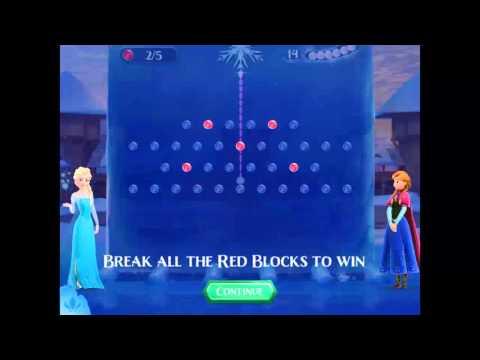 Frozen Free Fall 2 - Walkthrough Level 1