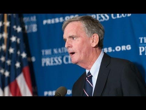 Judd Gregg speaks at The National Press Club - Nov. 7, 2013