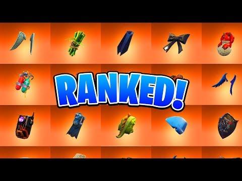 Ranking ALL 33 Legendary Back Blings In Fortnite (Ranking All Fortnite Skins)
