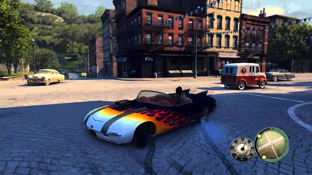 Top 10 Fastest Cars >> Mafia 2 [PC] - Potomac Elysium Supercharged Fun! (HD) | FunnyDog.TV