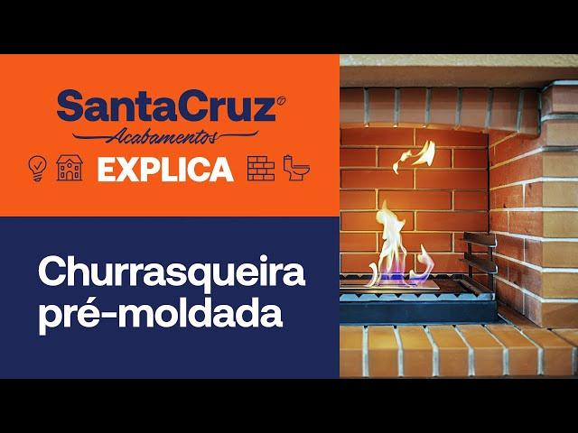 Churrasqueira pré-moldada: vantagens e modelos | Santa Cruz Explica